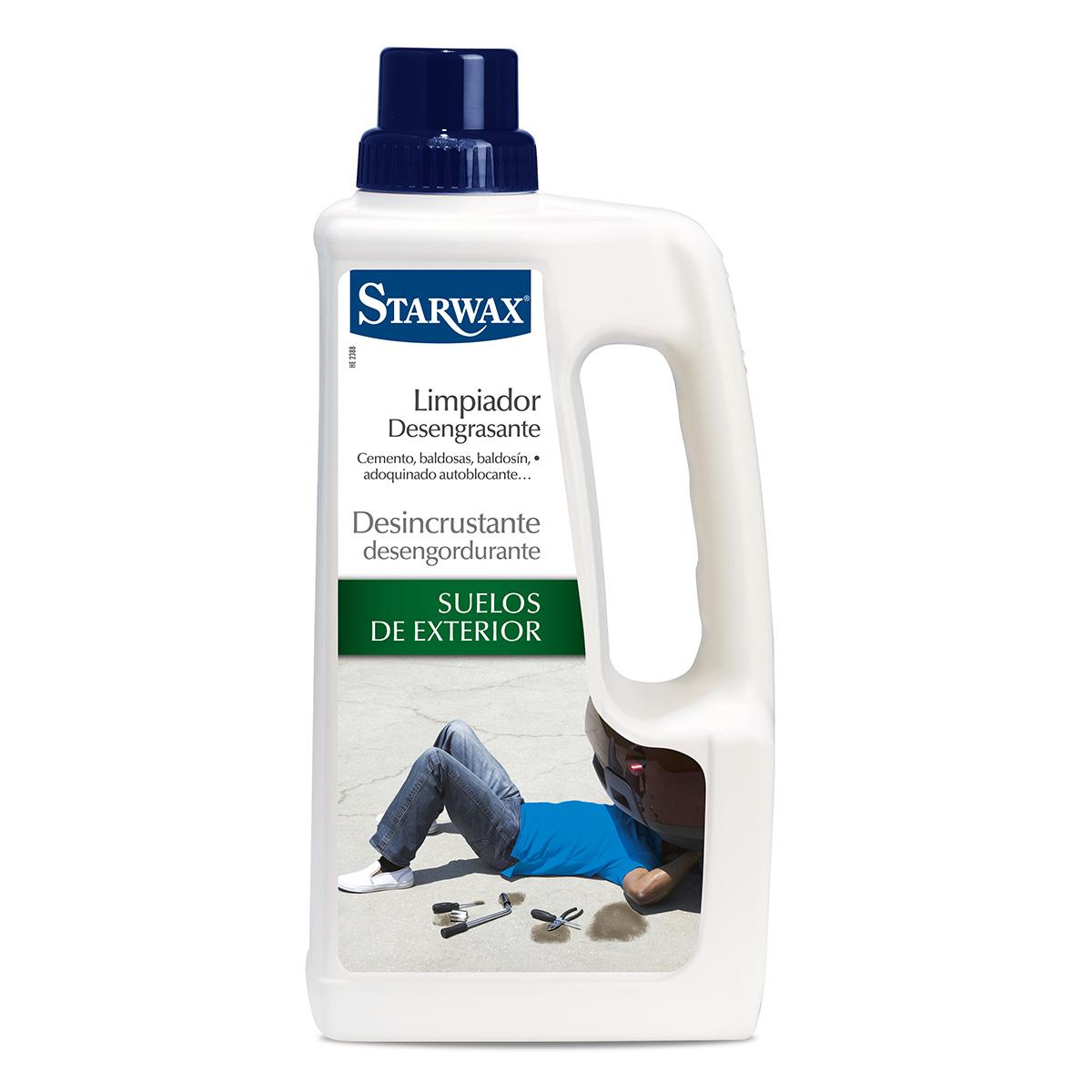 Limpiador desengrasante suelos de exterior - Starwax