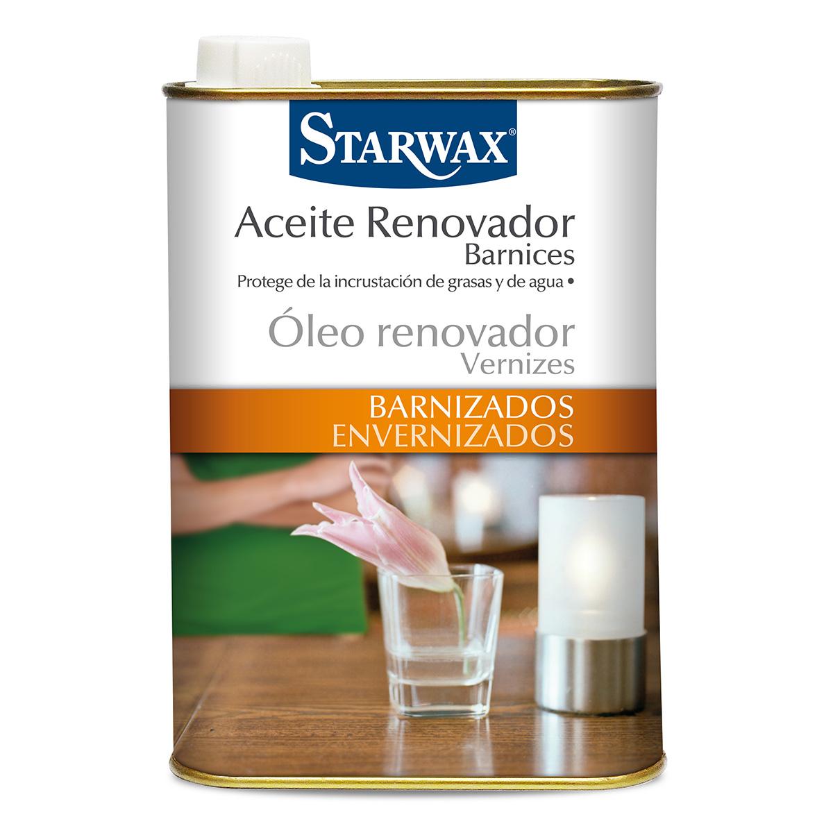 Aceite renovador barnices - Starwax