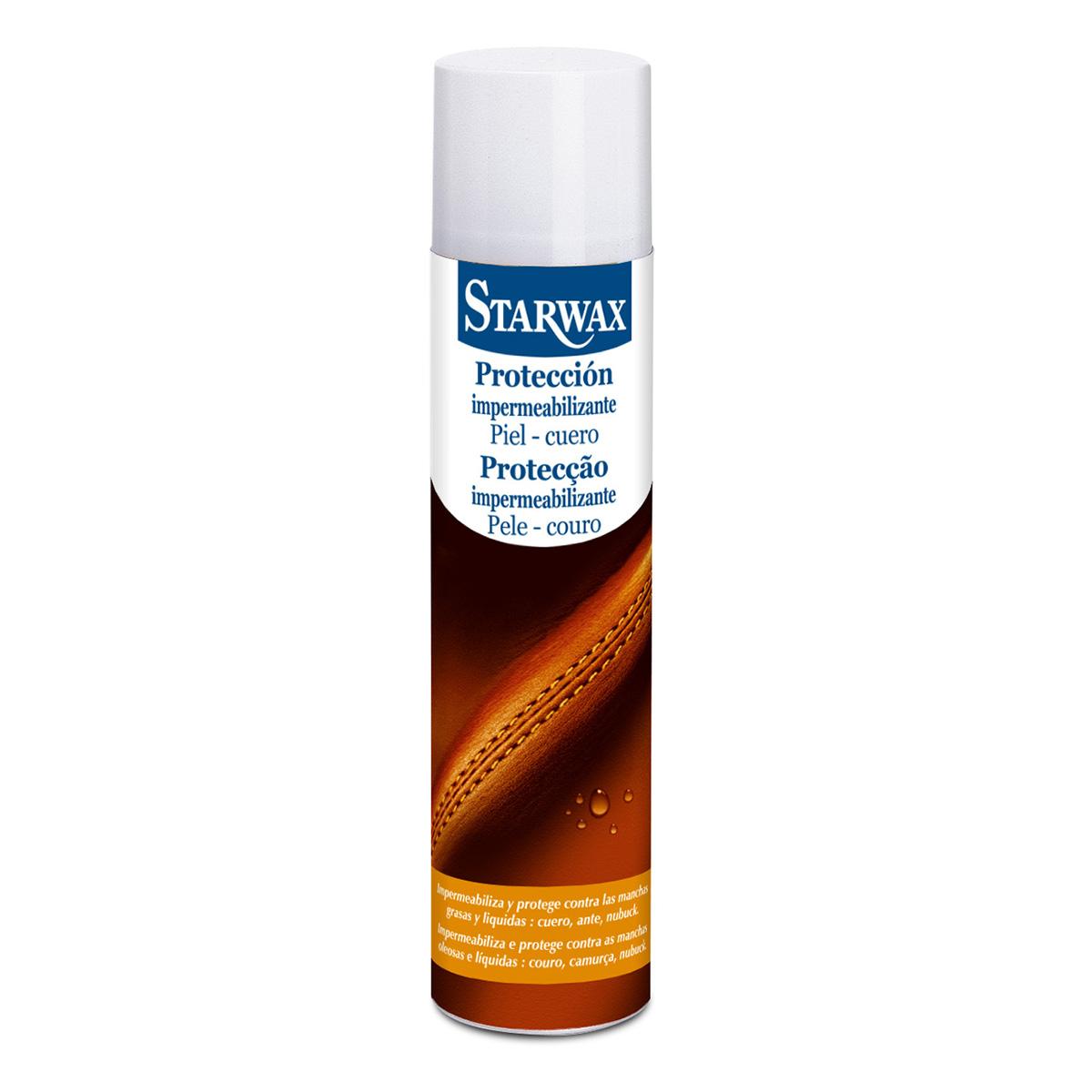 Protección impermeabilizante piel cuero - Starwax