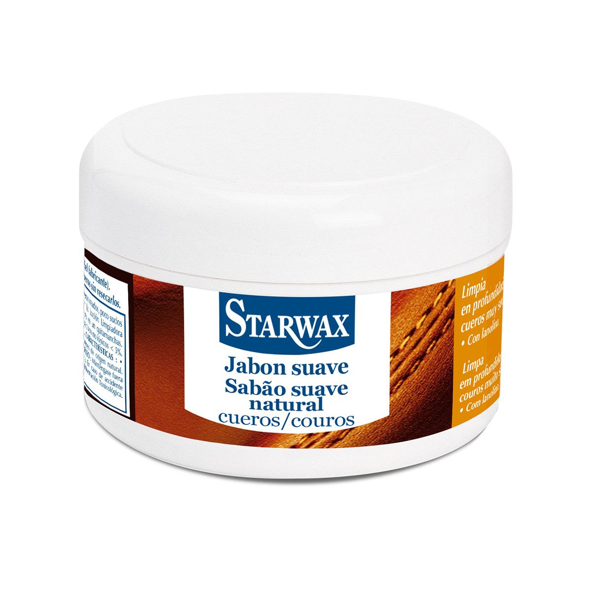 Jabón suave regenerador cueros - Starwax