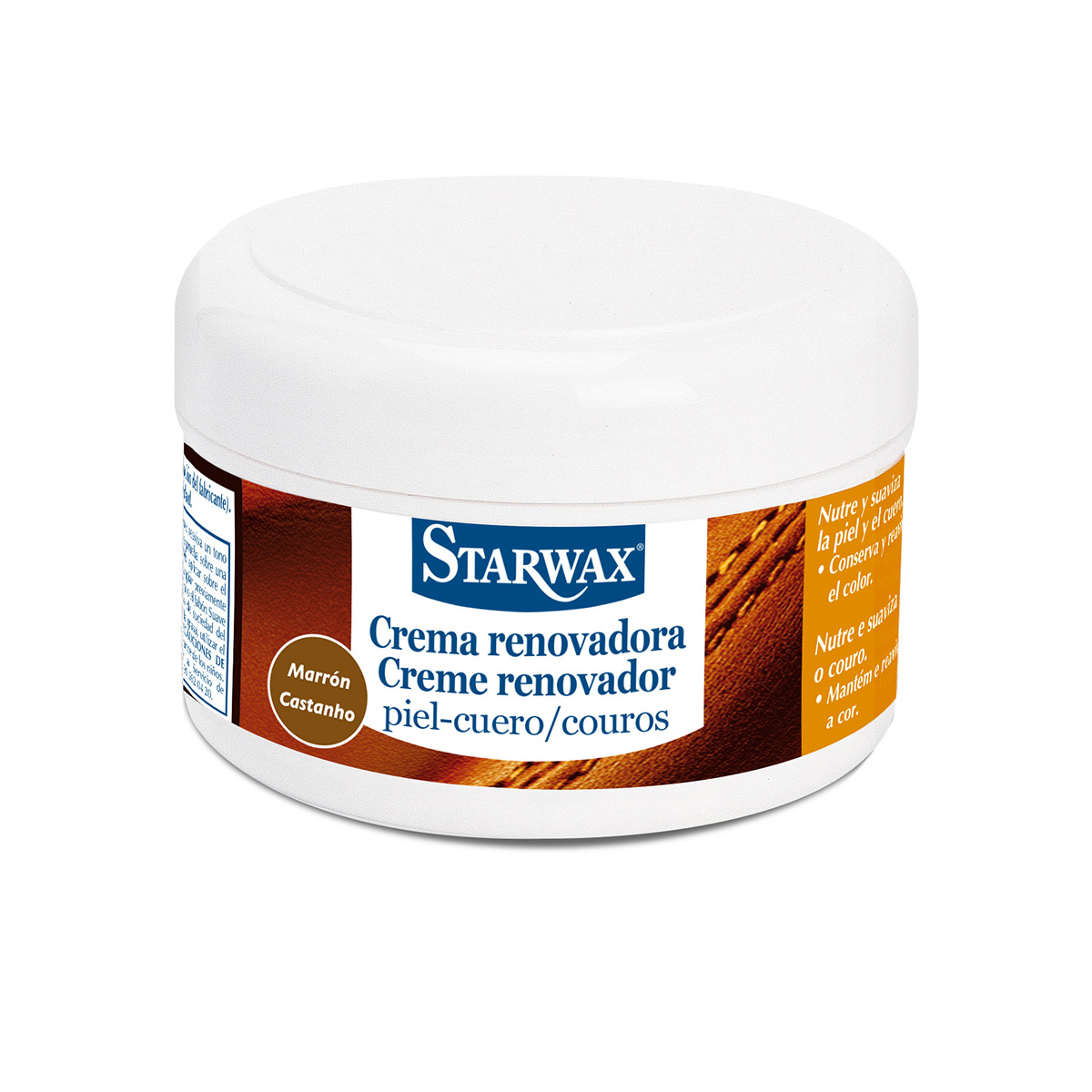 Crema renovadora colorante cuero - Starwax