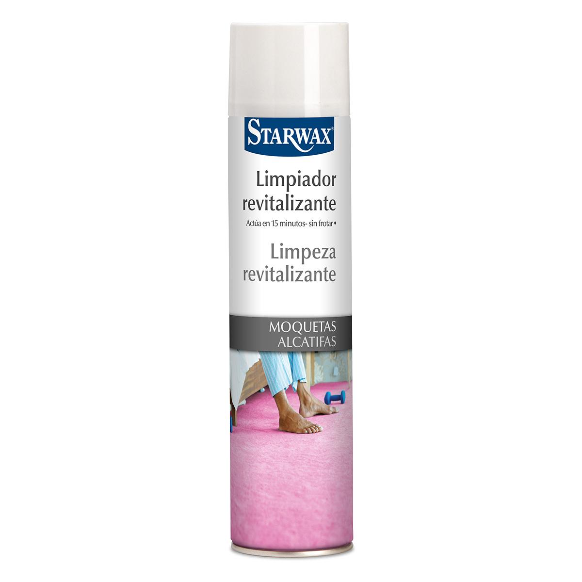 Limpiador revitalizante moquetas alfombras - Starwax