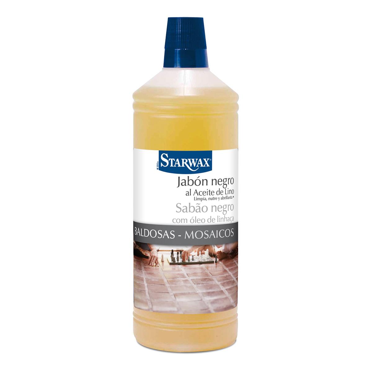 Jabón negro al aceite de lino – Starwax
