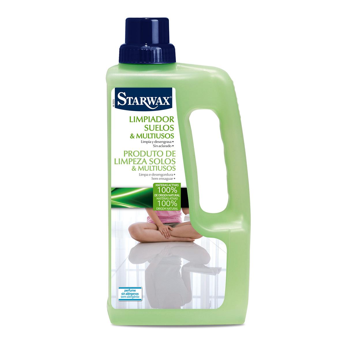 Limpiador ecológico suelos y multiusos - Starwax