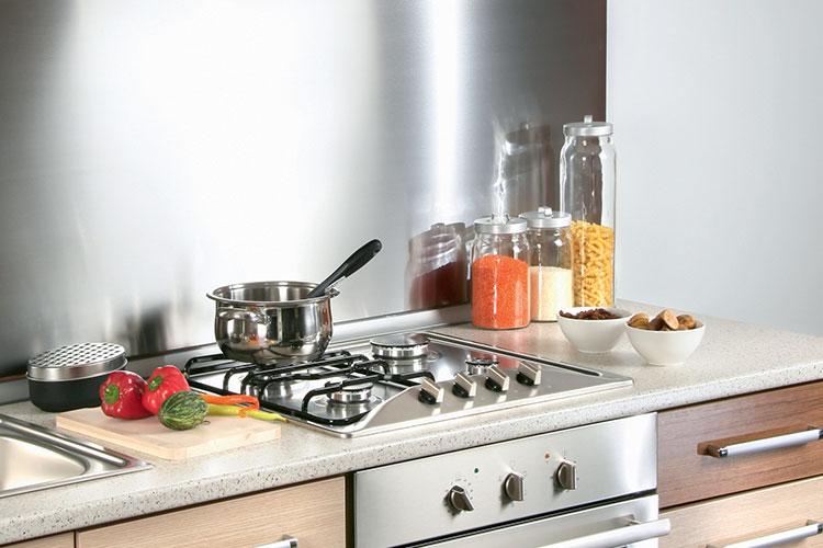 C mo eliminar la grasa de un frente de cocina en inoxidable starwax - Frente cocina ...