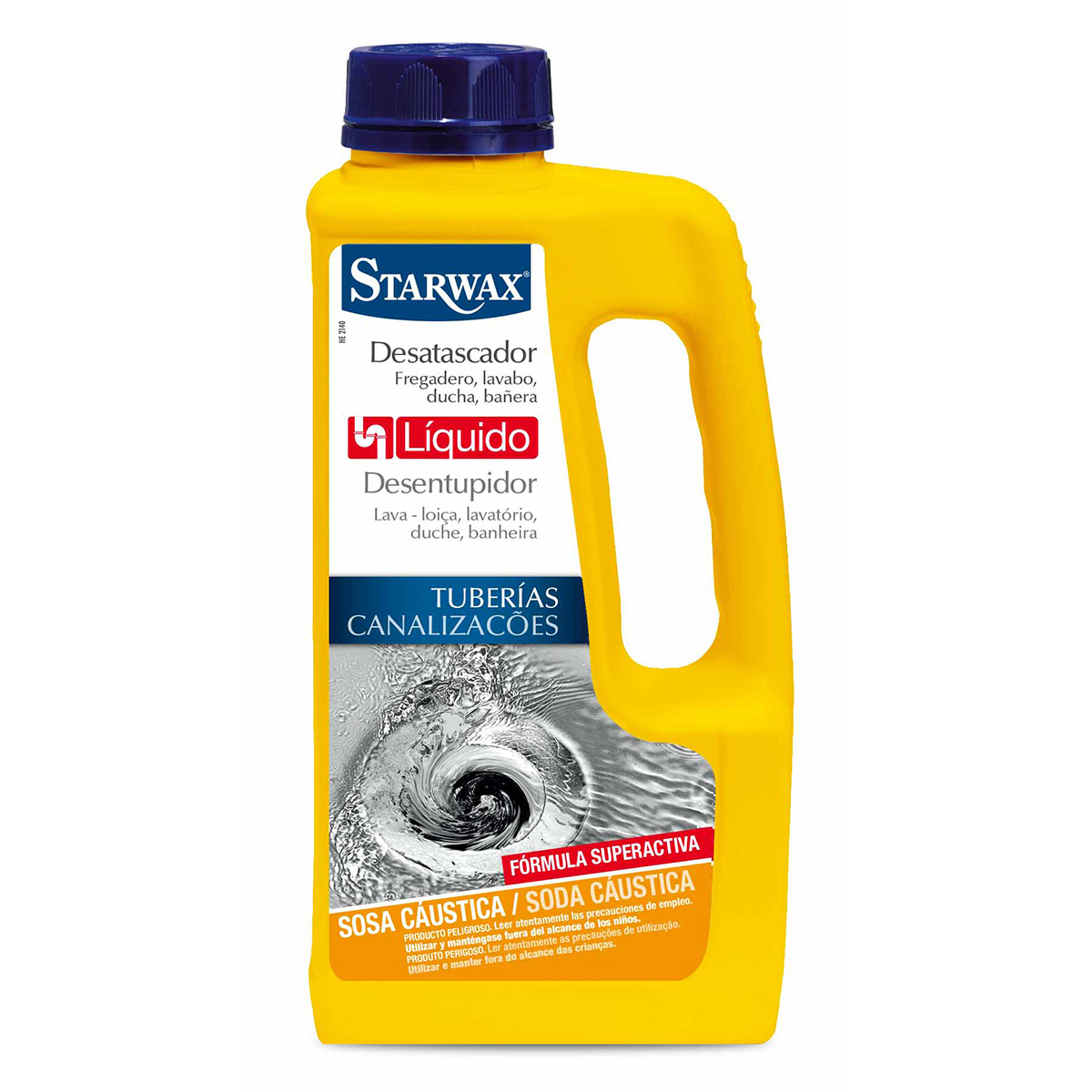 Desatascador liqu do starwax limpieza de la casa - Liquidos para desatascar tuberias ...